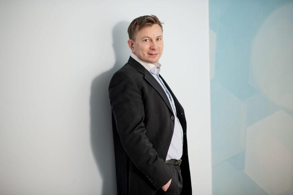 Teknologiateollisuuden sopimusvalmistaja Dicron toimitusjohtaja Jari Eiro.