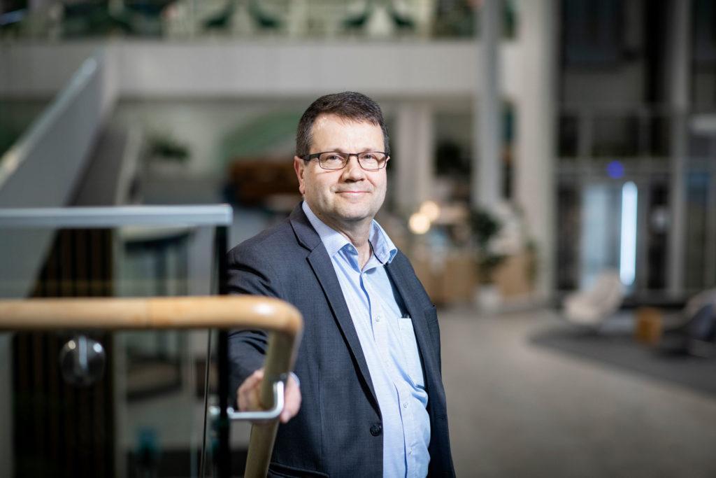 Konsulttiyhtiö Rambollin infrasta vastaava tekninen johtaja Mikko Leppänen.