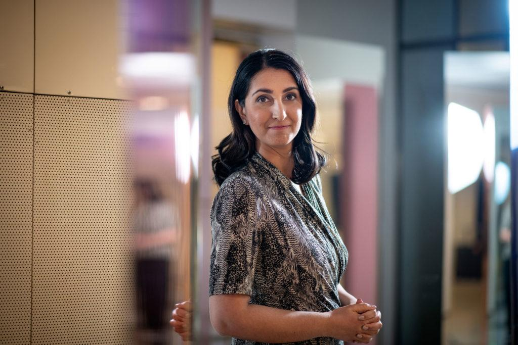 Helsingin apulaispormestari Nasima Razmyar (SDP).