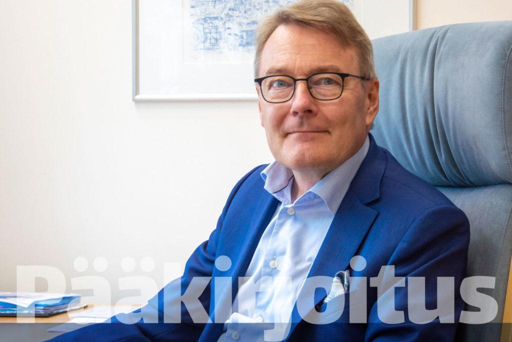 Heikki J. Perälä on Helsingin seudun kauppakamarin toimitusjohtaja.