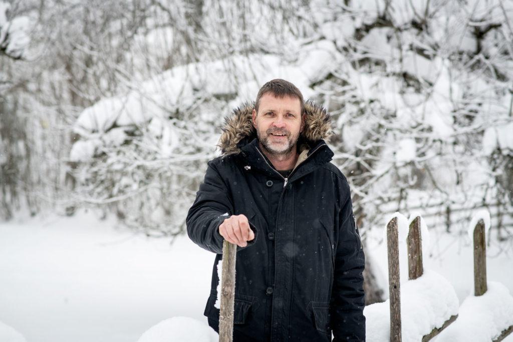 Pekka Holma on Krapihovin toimitusjohtaja.