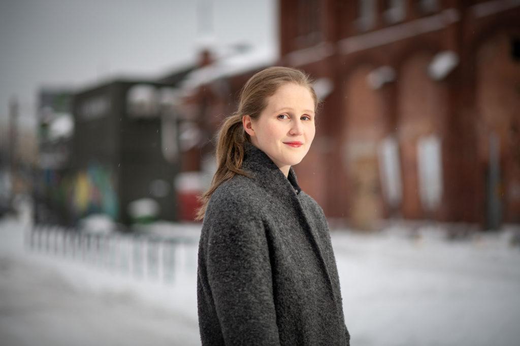 Helsingin Vihreiden valtuustoryhmän puheenjohtaja Reetta Vanhanen.