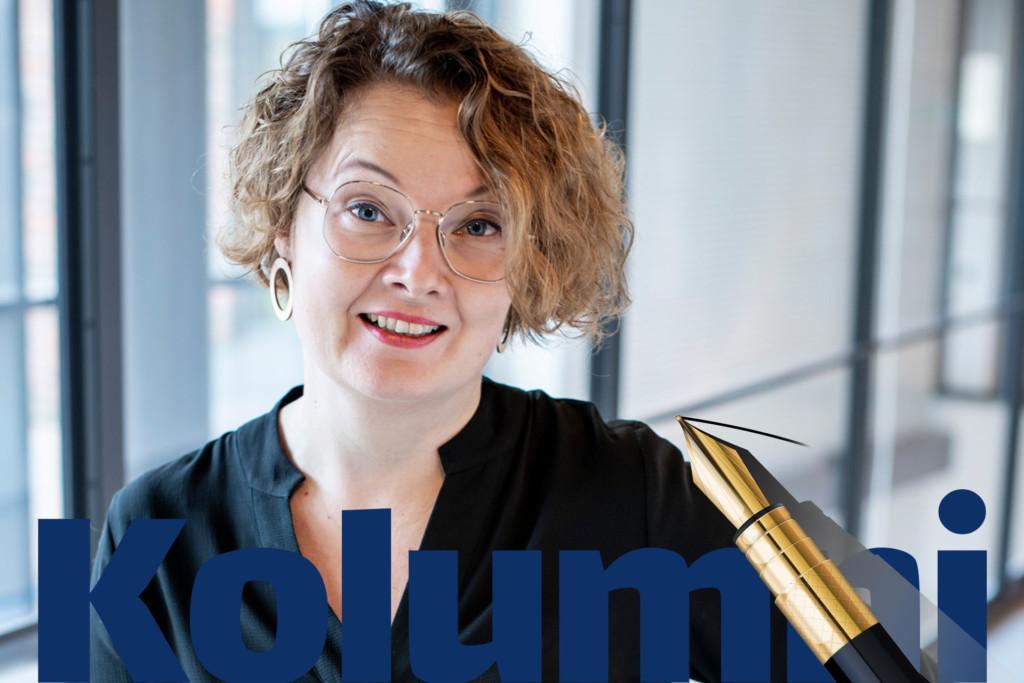 Omnian liiketoimintajohtaja Riikka-Maria Yli-Suomu.