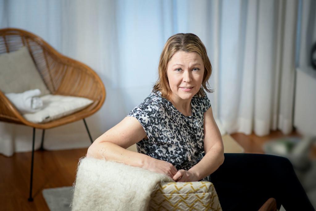 Työ- ja elinkeinoministeriön maahanmuuttojohtaja Sonja Hämäläinen.